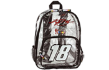 #18 Nascar Clear Backpack - Kyle Busch